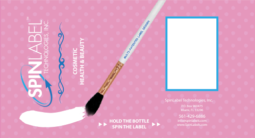 SpinLabel Cosmetics Outer Label
