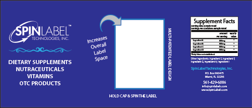 SpinLabel Supplement Outer Label
